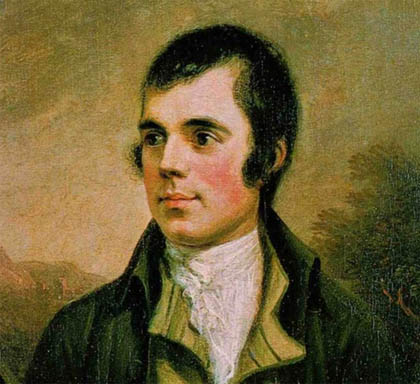 Robert Burns - Scottish poet and Mason