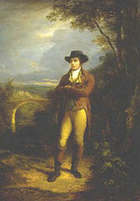 Robert Rabbie Burns by Nasmyth
