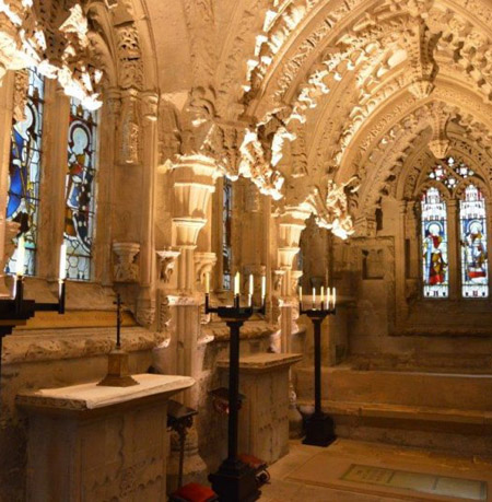 Rosslyn Chapel and Freemasonry
